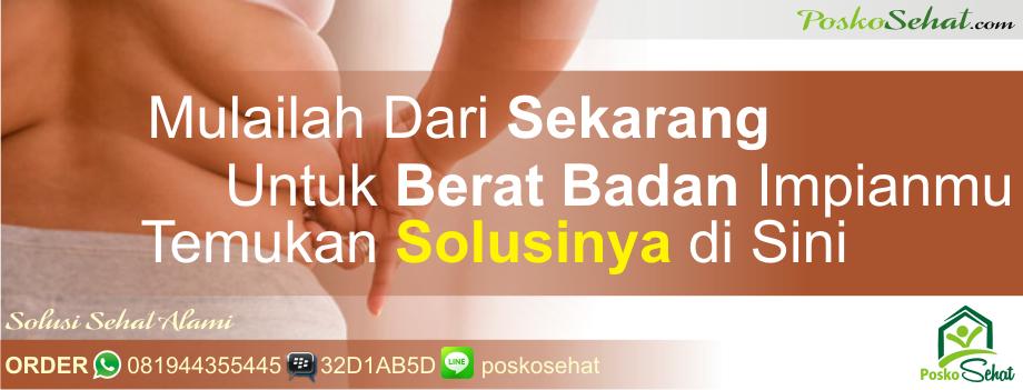 Jual Obat Pelangsing Badan Herbal Makassar